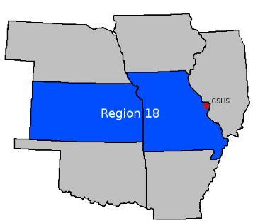 Region 18 Map